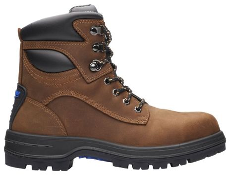 """Blundstone 143 XFOOT Lace-Up Steel Toe Safety Boots - 6"""", Water Resistant Side"""