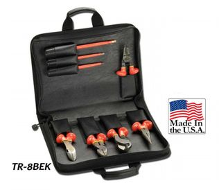 Cementex TR-8BEK Insulated Tool Kit W/Pouch, 8PC