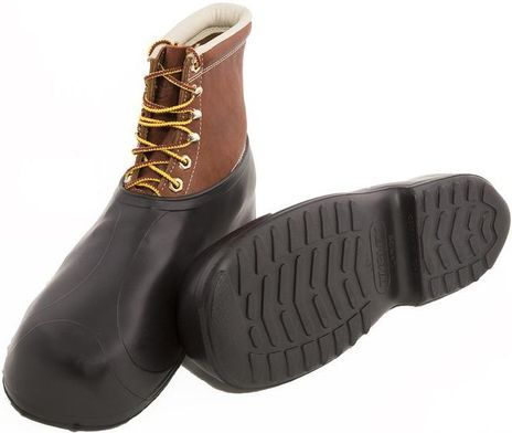 Tingley 1300 Rubber Overshoes - Natural Rubber, Fit Over Steel Toe Boots