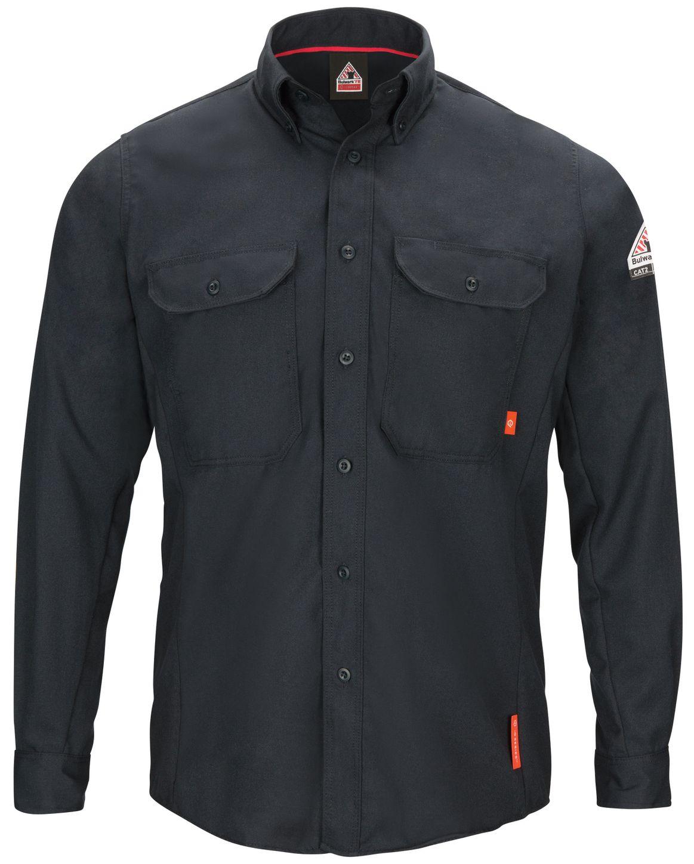 bulwark-fr-shirt-qs50-iq-series-comfort-woven-lightweight-navy-front.jpg
