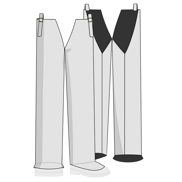 Otterlayer aluminized leggings LV4-ACF