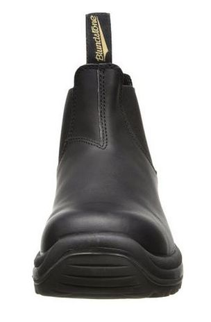 Blundstone 179 xTreme Safety Elastic Side Slip-On Steel Toe Boots - Puncture Resistant Sole Front View
