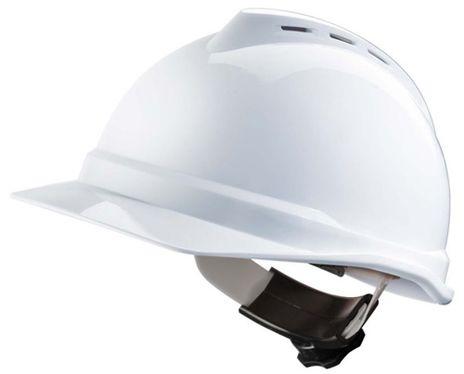 MSA V-Gard 500 Hard Hats with 4-PT Fas-Trac Suspension