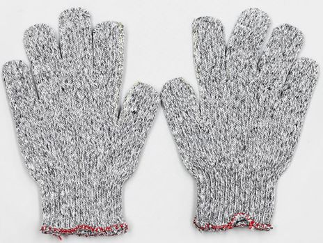 Superior String Knit Dyneema and Fiberglass Cut Resistant Gloves SDYF - Front and Back