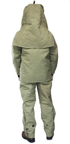 CPA 44 Cal Arc Flash Suit with Jacket and Bib Overall AG44 - Back View
