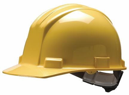 Bullard S51R High Density Polyethylene Hard Hat with Ratchet Suspension