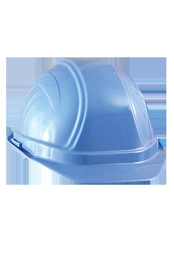 Occunomix V200 Regular Brim Hard Hat w/Ratchet Suspension Blue