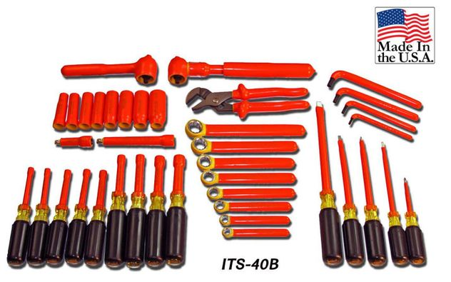 Cementex ITS-40B Insulated Tools Kit, 40PC