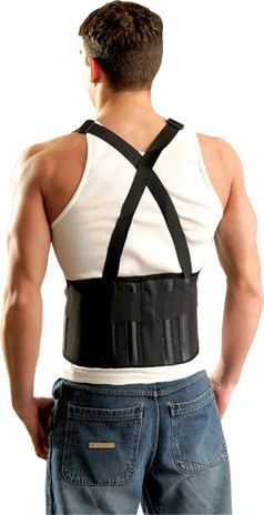 Occunomix Classic Back Support 611 The Mustang Example