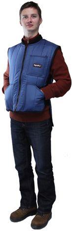 RefrigiWear 0599 Cooler Wear Insulated Work Vest - Hand Pockets