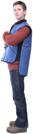 RefrigiWear 0599 Cooler Wear Insulated Work Vest - Side View