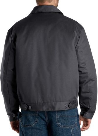 Dickies Men's Outerwear - Lined Eisenhower Jacket TJ15 - Charcoal
