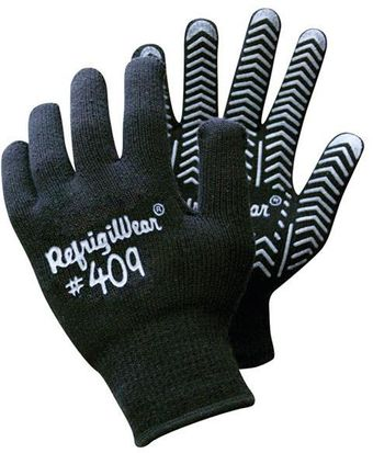 RefrigiWear Cold Weather Apparel - Herringbone Grip Glove 0409