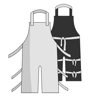 Otterlayer aluminized apron A32-ACF