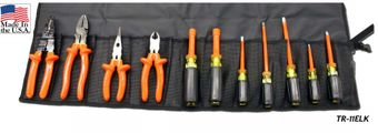 Cementex TR-11ELK Insulated Electrician's Kit, 11PC