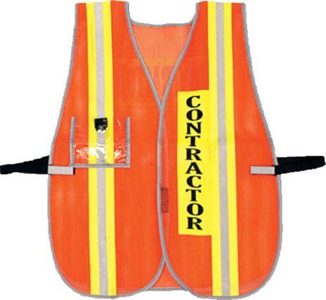 OK-1 Contractor Hi Vis Safety Vest