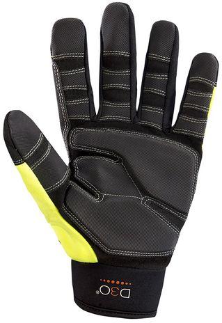 Occunomix OK-CCG450 CoolCore® HiViz Anti-Vibe Gloves w/D3O Palm