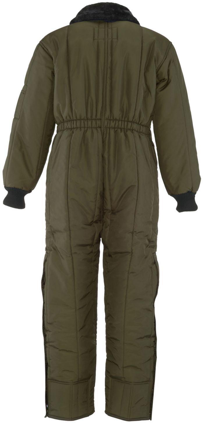 RefrigiWear 0344 Iron-Tuff Insulated Work Coverall Sage Back