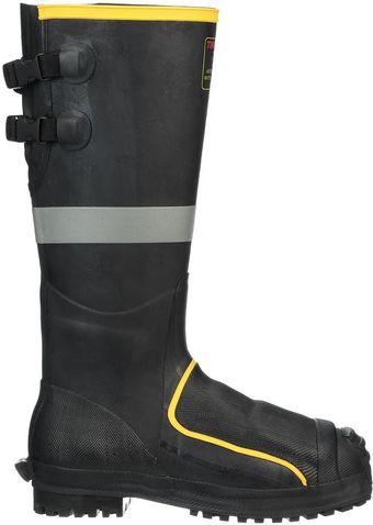 "Tingley MB816B Premium Metatarsal Rubber Boots - 16"" Tall, Super Heavy Duty Side"