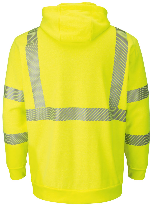 bulwark-fr-hi-visibility-smz4-fleece-zip-front-hooded-sweatshirt-waffle-lining-yellow-green-back.jpg