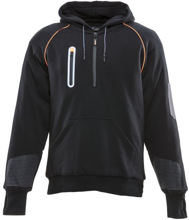 RefrigiWear 8440 PolarForce Sweatshirt With Performance-Flex Front