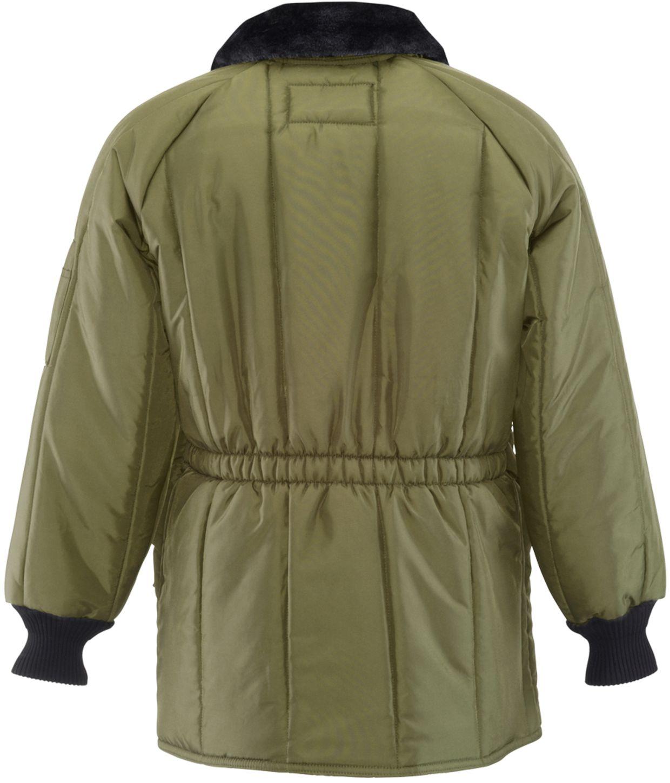 RefrigiWear 0358 Iron-Tuff Siberian Winter Work Coat Sage Back