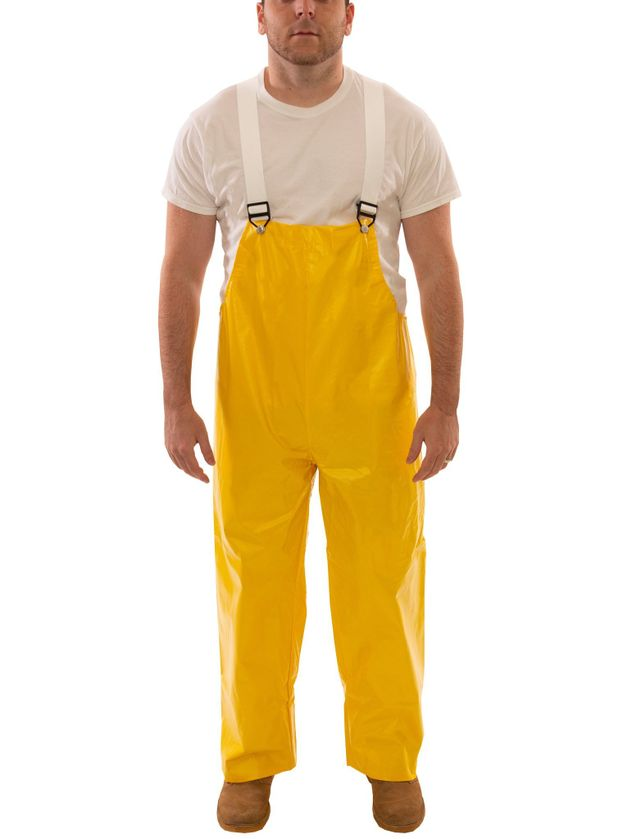 Tingley O32007 PVC Coated Work Overalls - with Plain Front Front