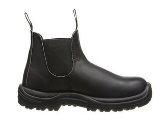 Blundstone 179 xTreme Safety Elastic Side Slip-On Steel Toe Boots - Puncture Resistant Sole Side View