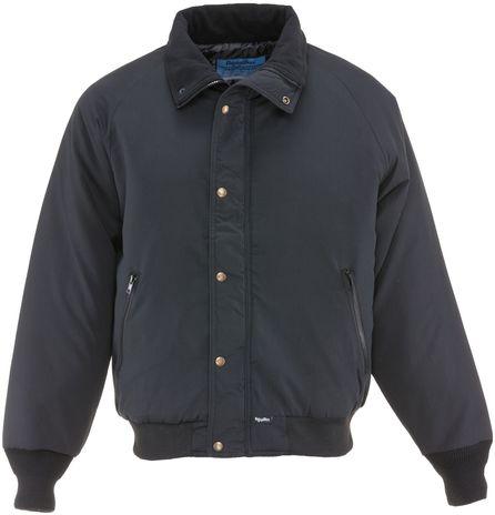 RefrigiWear 0450 Chillbreaker Insulated Work Jacket Black Front