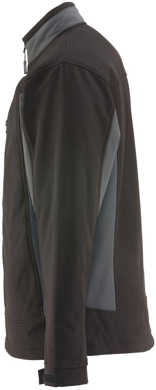 RefrigiWear 0490 Softshell Insulated Work Jacket Black Left