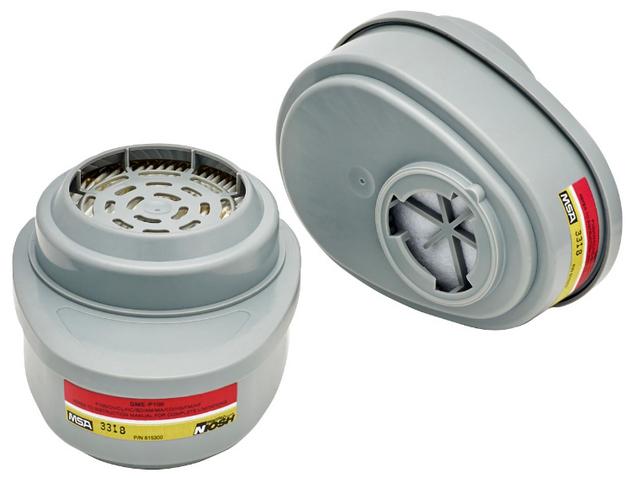 MSA Advantage 815366 Multi-Gas GME Cartridge with P100 Filter