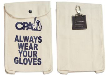 Chicago Protective Apparel Glove Bag for Electricians - Front and Back