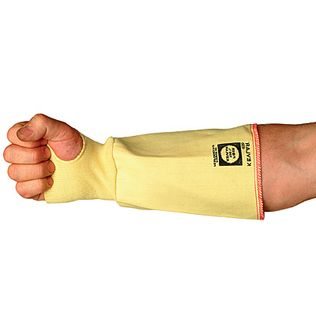 """Superior SLKW7TH Cut Resistant Woven Kevlar Sleeves with Thumb Holes, 7"""""""