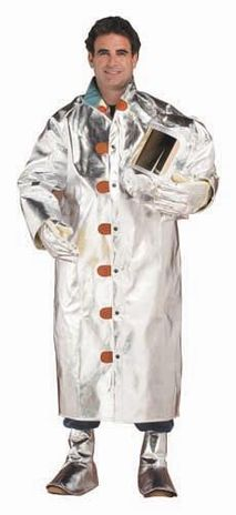 Chicago Protective 15 oz Aluminized Rayon 50 inch Coat