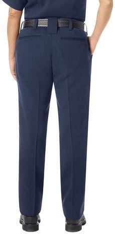 Workrite FR Women's Pants FP45, Station No. 73 Uniform Navy Example Back
