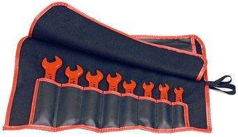 Knipex Tools Inch-Sized Insulated Open End Wrench Tool Set 98 99 13 S4
