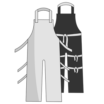 Otterlayer aluminized apron A52-ACF