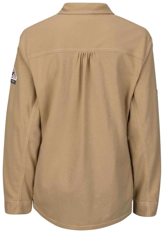 bulwark-women-s-fr-polo-qt15-iq-series-comfort-knit-khaki-back.jpg