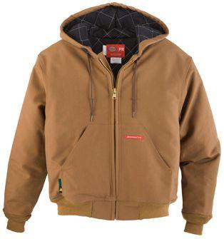 Workrite 11 oz Ultra Soft Duck Dickies FR Hooded Jacket 368UT11