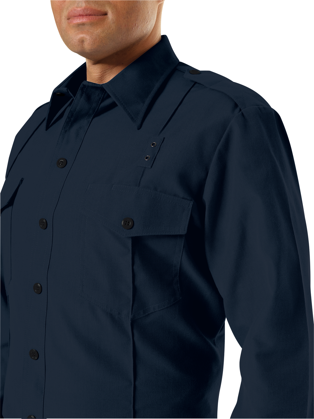 workrite-fr-chief-shirt-fsc0-classic-long-sleeve-midnight-navy-example.png