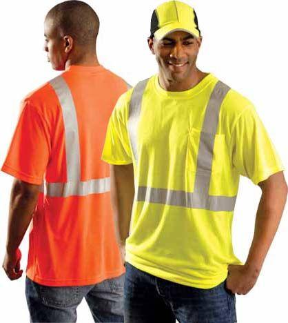 Occunomix Economy T-Shirt LUX-SSETP2 - High Vis Lightweight