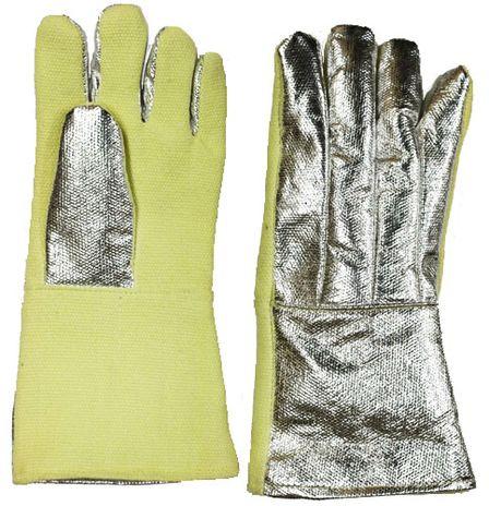 CPA 234-AKV-KV Aluminized Back High Heat Kevlar Gloves