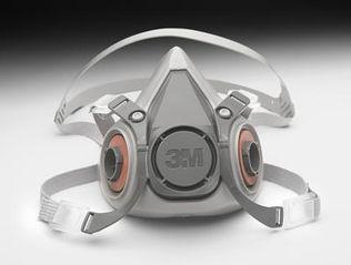 3M 6000 Series Half-Mask Respirator