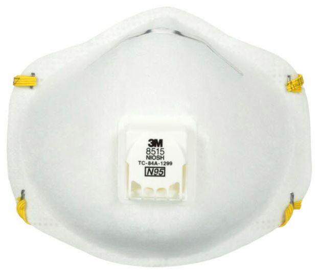 3M Particulate Welding Respirator 8515 - N95 Front