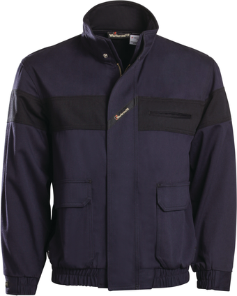 Workrite Arc Flash Bomber Jacket 320UT95/3209 - 9.5 oz UltraSoft Front