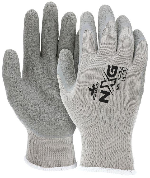 MCR Safety FlexTuff Economy Gloves 9688 with Textured Latex Palms