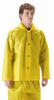 nasco worklite lightweight hooded rain jacket