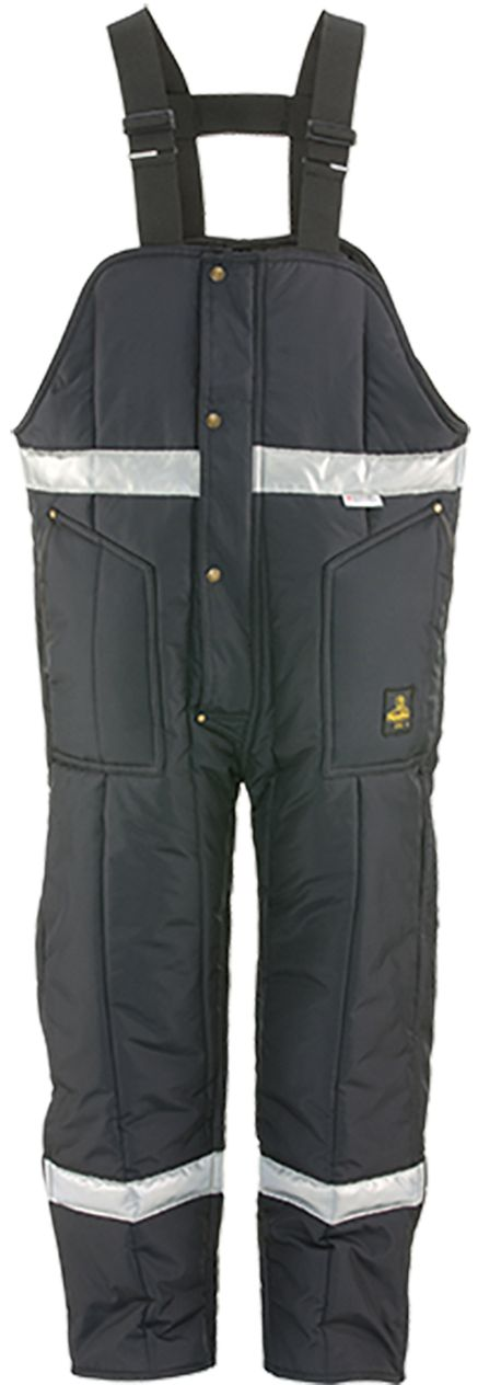 RefrigiWear 0386 Iron-Tuff Winter Work Overall High Bib With Reflective Tape
