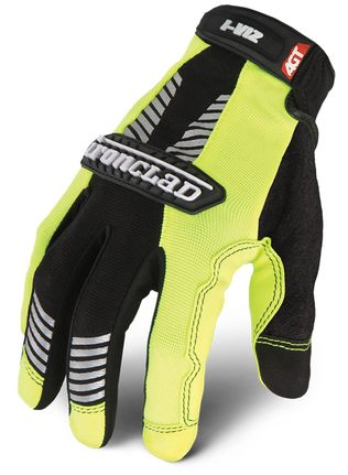 Ironclad I-VIZ™ REFLECTIVE GREEN Glove back