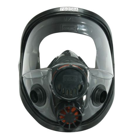 Honeywell North Safety 7600-Series Respirator Full Face Mask 760008A - Premium Elastomeric Front